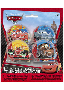 Disney - Cars Loot - Bagatelle Games 4pk
