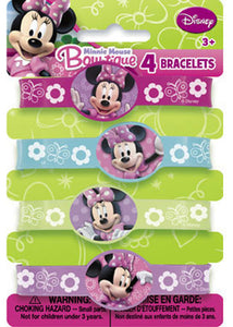 Disney - Minnie Mouse Loot - Rubber Bracelets 4pk