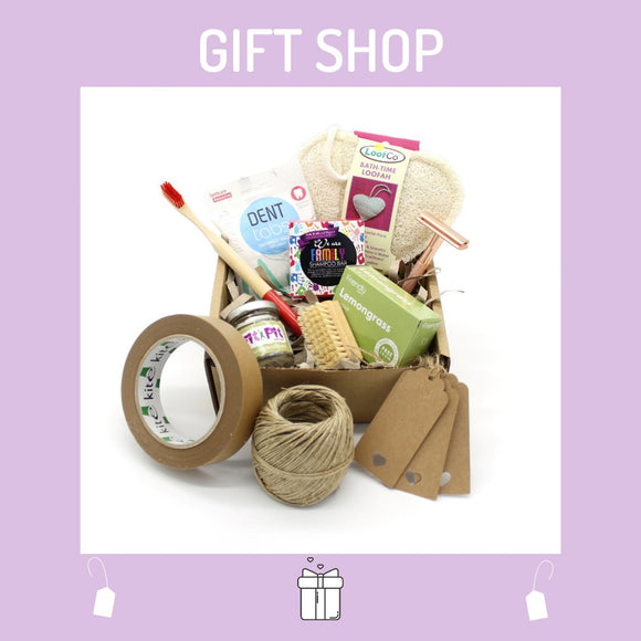 Bundle with selection of plastic free toiletries