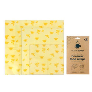Beeswax Food Wraps (3-pack)