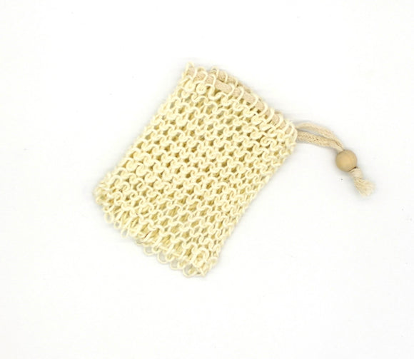 Sisal soap bag