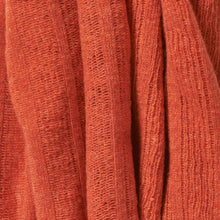 Merino Lambswool Brant Wrap in Burnt Orange