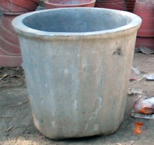 "Cement Planter 20"" - Plain"
