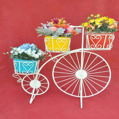 Bi-Cycle Flower Stand