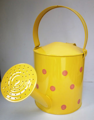 Watering Can 5 Litre (With Polka Dots)