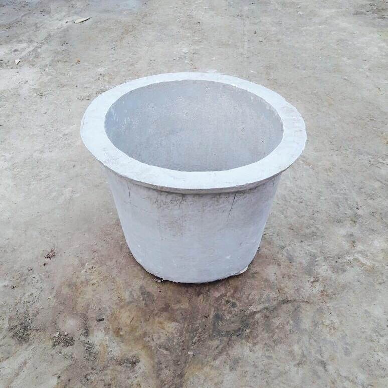 "Cement Planter 16"" - Plain"