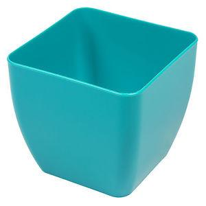L67 - Blue Plastic Pot 3.5""