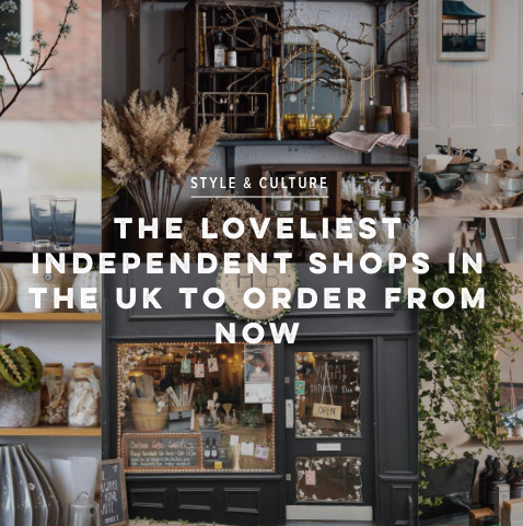 Featured in Condé Nast, Traveller, The Loveliest Independent Shops in the UK to Order From Now