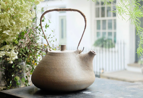 Sofie Berg Handmade Ceramic Teapot Inspired by Natural Forms