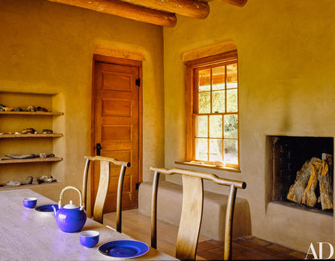 Georgia O'Keeffe's Abiquiú house in New Mexico