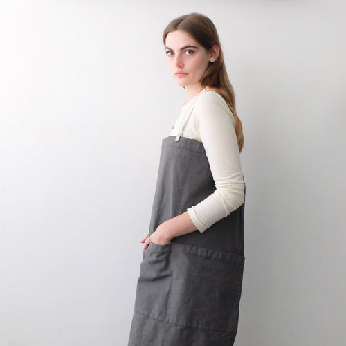 (2019) Potter Gardener Chef Apron | Dark Grey