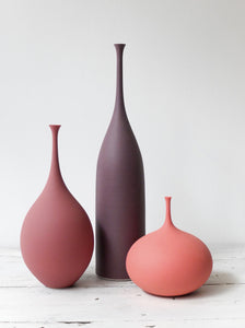 Sophie Cook medium bottle in dry aubergine 29