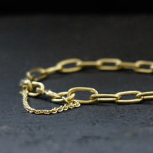 Marina Spyropoulos MSP1 18ct Yellow Gold Hand Forged Chain Bracelet