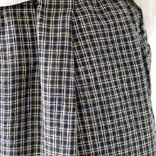 (SS 21) A.B Apuntob Black Check Trousers