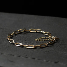 Marina Spyropoulos 9K Yellow Gold Hand Forged Chain Bracelet