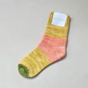 Hansel From Basel socks Mustard