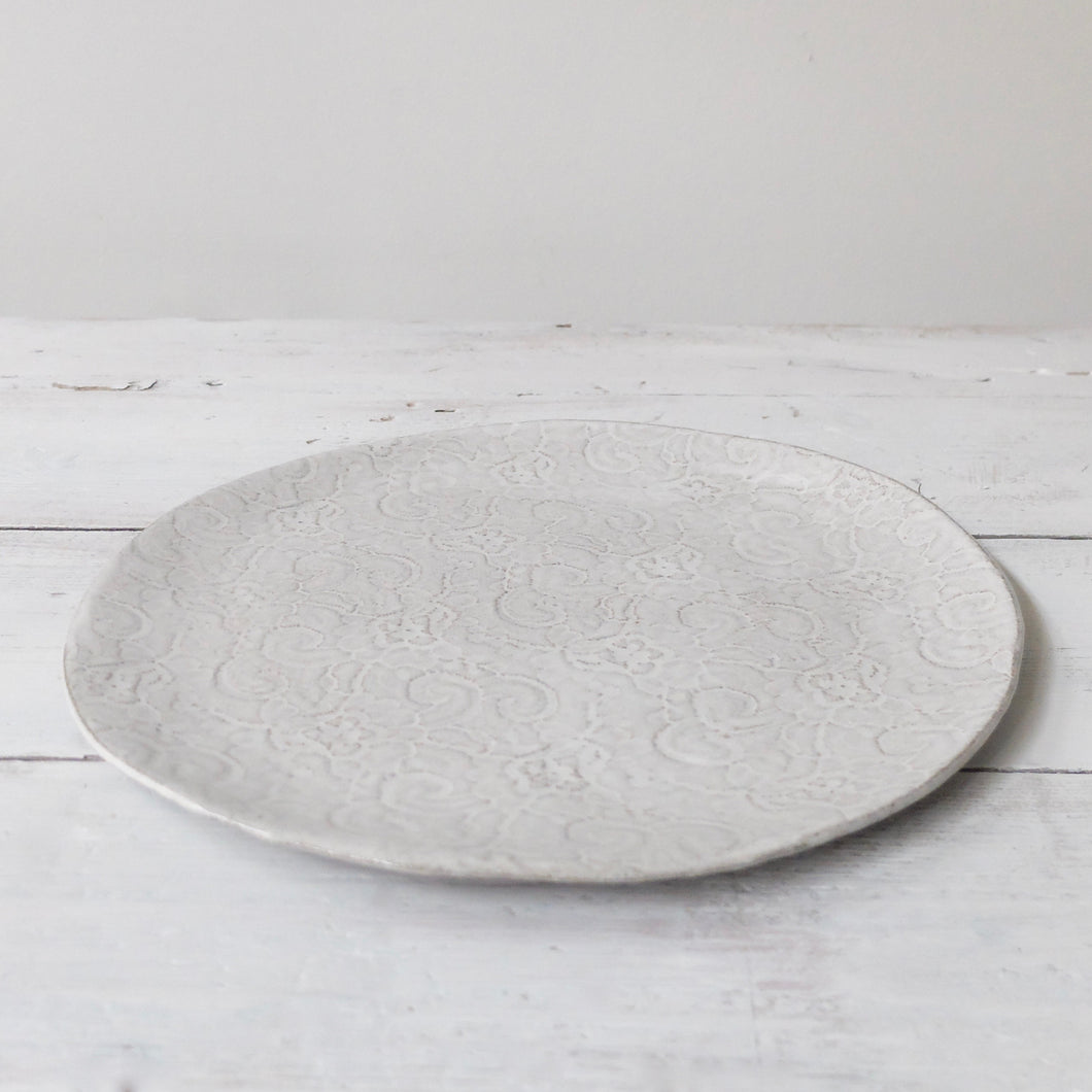 Irit Goldberg large lace plate