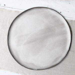 Jennifer Morris Large Black Platter 1