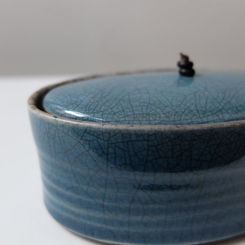 Kate Schuricht Oval lidded Container