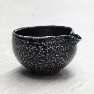 Jack Doherty Soda Fired Stoneware Small Pouring Bowl (DARK INTERIOR)