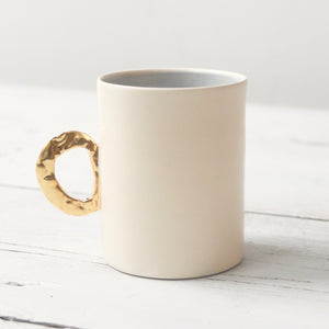 Fliff Carr Gold Handled Espresso Cups