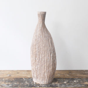 Malcolm Martin and Gaynor Dowling Ribbed Flask 2004
