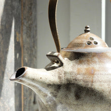 Kin Leung Teapot with Aged Brass Handle
