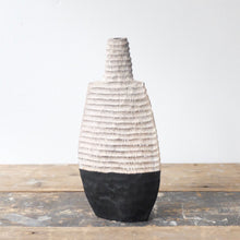 Malcolm Martin and Gaynor Dowling Black and White Bottle 1187