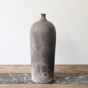 Hannah Blackall Smith Smoke fired Bottle vase 5