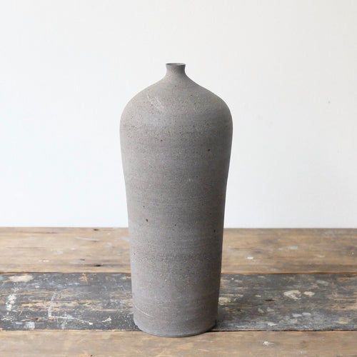 Hannah Blackall Smith Raw Grey Bottle Vase 10