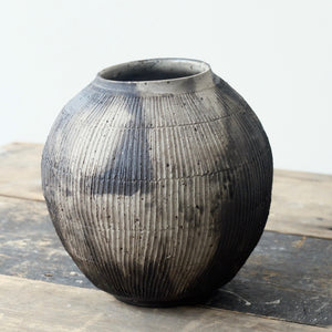 Hannah Blackall SmithSmoke Fired and Glazed Moon Jar 4