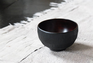 Takahashi McGil Hazel Yunomi, turned and hand carved and finished with urushi 10