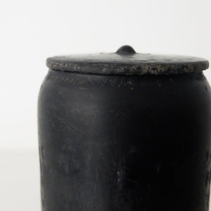 Kenta Anzai Black Urushi Container