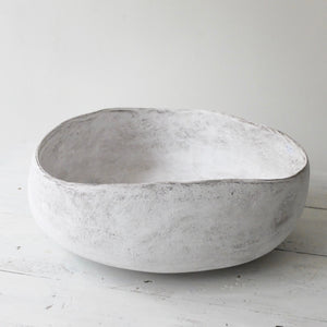 Yasha Butler White Lithic Vessel 2