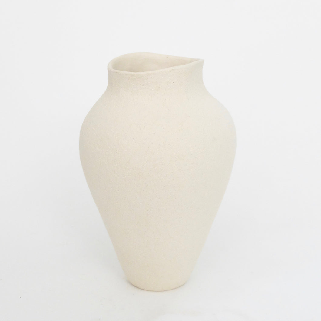 Sophie Cook medium bottle matt white