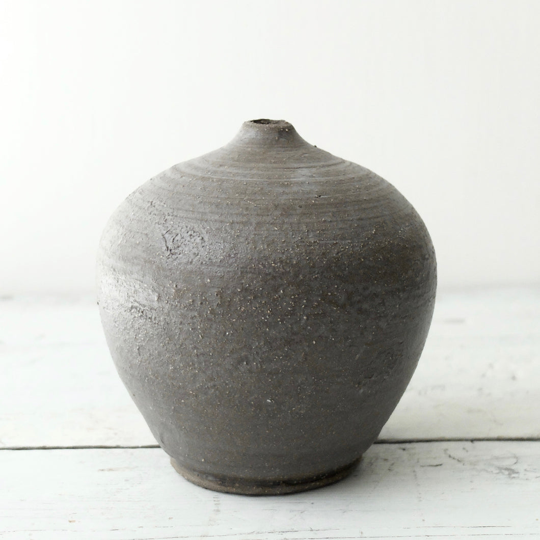 Louise Egedal Grey Silk No.010  Vase