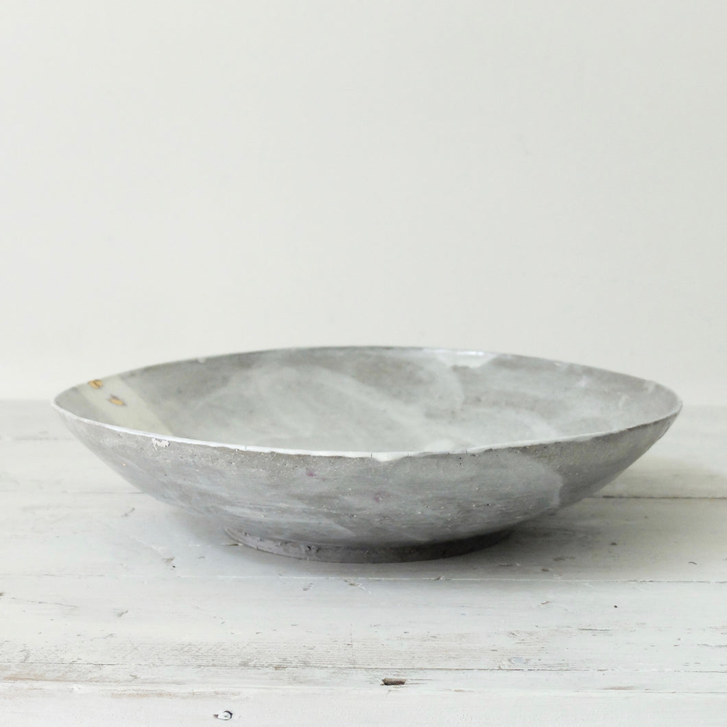 Abigail Schama Begging Bowl with Gold Lustre