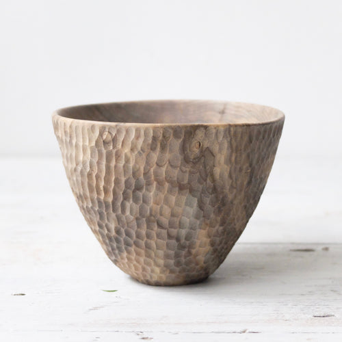 Takahashi McGil Turned and hand carved Magnolia cup 4