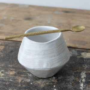 Iva Polachova X Nicky Lee small spoon and bowl - C3