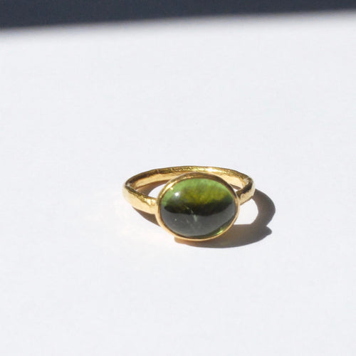 Ram Rijal Green Tourmaline ring 44
