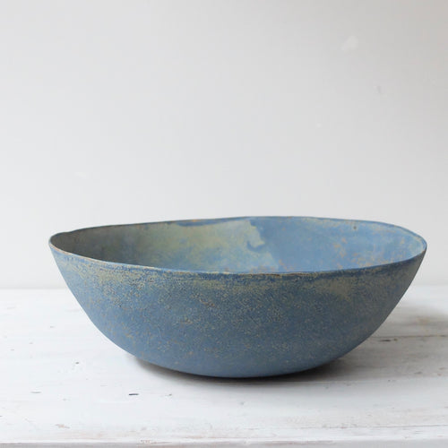 Linda Ouhbi Large Blue Bowl