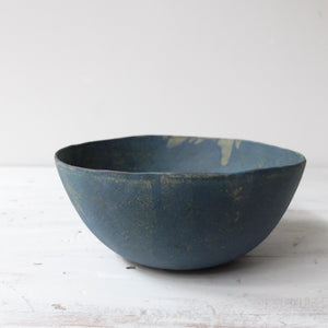 Linda Ouhbi Medium Blue Bowl