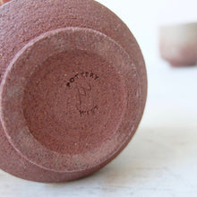 Pottery West Red Stoneware Tea Bowl