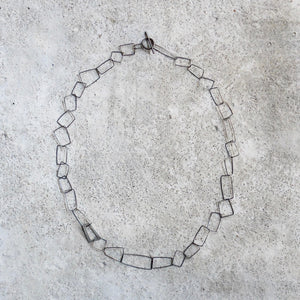 Callum Partridge Stainless Steel and Silver Necklace 1