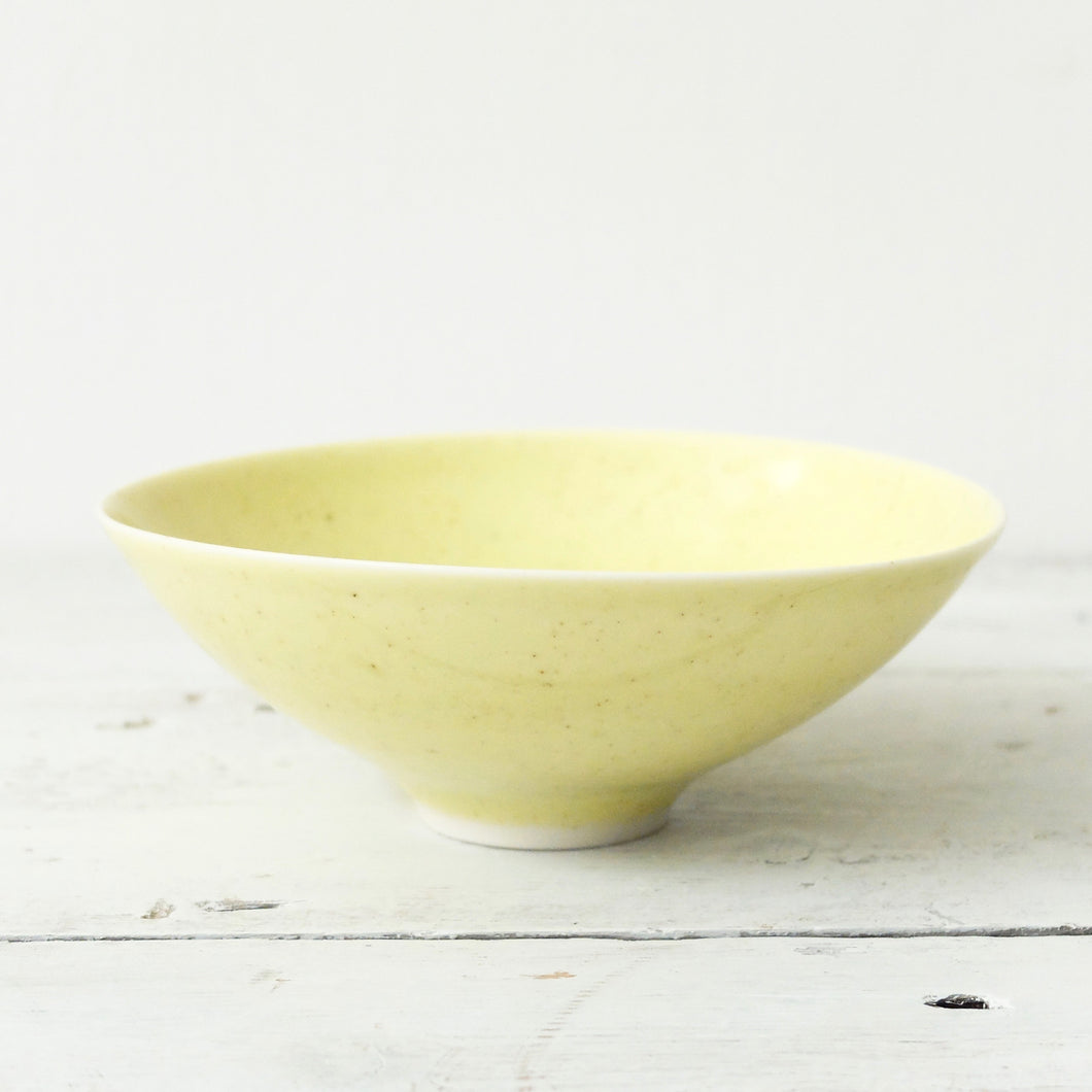 Peter Wills Yellow Porcelain Bowl 14