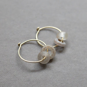 Kerry Seaton Antique Glass Ear Hoops