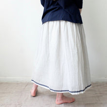 (SS20) Runaway Bicycle Sally - Blue and White Skirt
