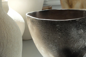 Enriqueta Cepeda Smokefired bowl No.3053