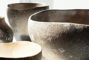 Enriqueta Cepeda Smokefired bowl