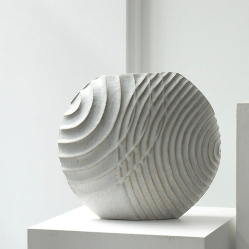 Michèle Bianco Overlap Carved Disc 2